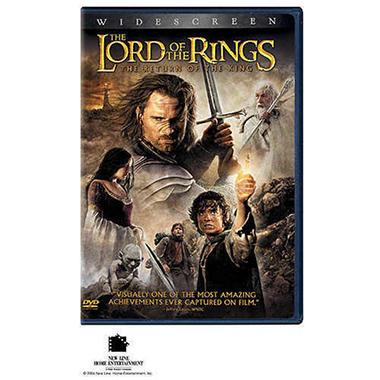 LOTR RETURN KING DVD HOBBIT PALLET