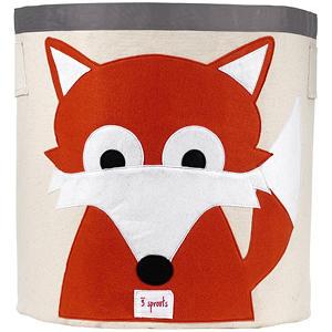 3 Sprouts Fox Storage Bin