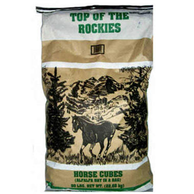 Top of the Rockies Horse Cubes - 50 lbs.