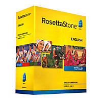 Rosetta Stone English (American) Level 1-3 Set - PC/Mac