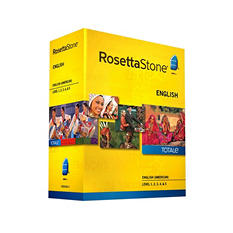 Rosetta Stone English Level 1-5 Set - PC/Mac