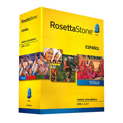 Rosetta Stone Spanish (Latin America) Level 1-3 Set - PC/Mac