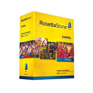 Rosetta Stone Spanish (Latin America) Level 1-5 Set - PC/Mac