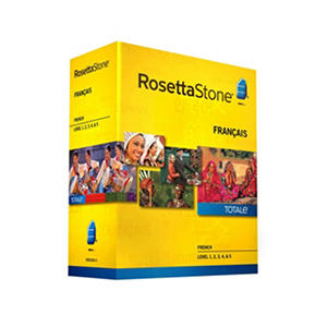 Rosetta Stone French Level 1-5 Set - PC/Mac