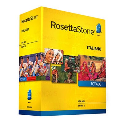 Rosetta Stone Italian Level 1 - PC/Mac