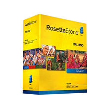 Rosetta Stone Italian Level 1-5 Set - PC/Mac