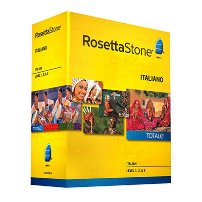 Rosetta Stone Italian Level 1-3 Set - PC/Mac