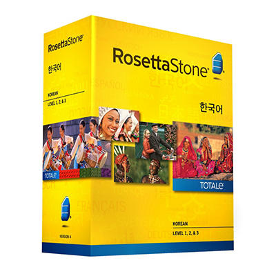 Rosetta Stone Korean Level 1-3 Set - PC/Mac