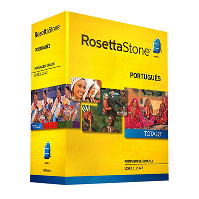Rosetta Stone Portuguese (Brazil) Level 1-3 Set - PC/Mac