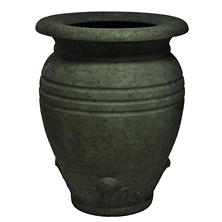 "28"" H Large Greek Olive Jar-Old Stone Finish"