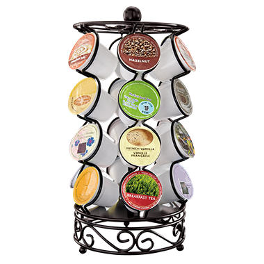 Single Serve Coffee Carousel Holder - 24 ct.