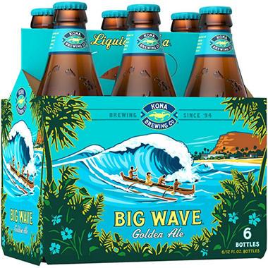 KONA BIG WAVE 6 / 12 OZ BOTTLES