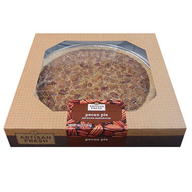 "Artisan Fresh 12"" Pecan Pie - 8 ct."