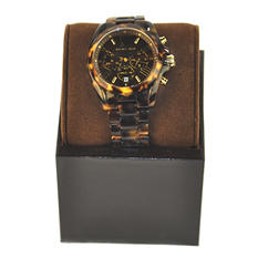 Ladies Bradshaw Watch in Tortoise Acetate by Michael Kors