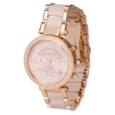 Women's Parker Two-Tone Stainless Steel Watch by Michael Kors