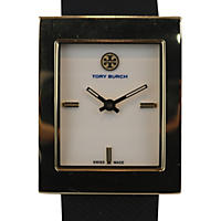 Women's Buddy Classic Leather Watch by Tory Burch