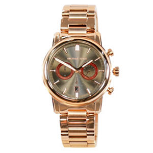 Men's Pennant Rose Gold Tone Stainless Steel Watch by Michael Kors