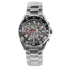 Men's Jetmaster Silver Tone Stainless Steel Watch by Michael Kors
