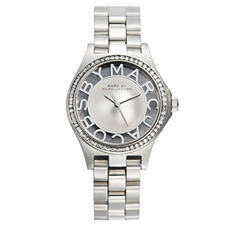 Marc by Marc Jacobs Ladies Henry Skeleton Glitz Watch