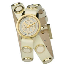Women's Reva Mini Studded Double Wrap Watch by Tory Burch