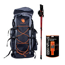 Emergency Essentials Outdoor Trail Hiking Safety Combo