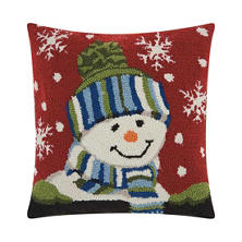 Nourison Snow Boy Decorative Pillow