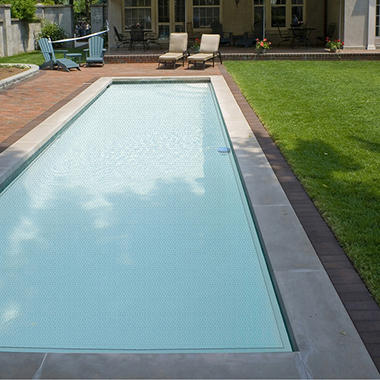18' x 36' In-Ground Pool Solar Blanket - Clear