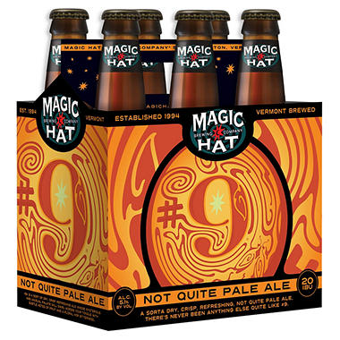 MAGIC HAT # 9 6 / 12 OZ BOTTLES