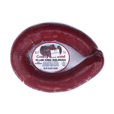 Country Store Brand� Plain Ring Bologna - 1.4 lb.