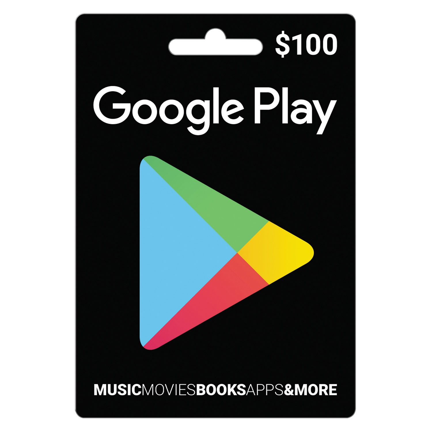 Gift Card Numbers For Google Play Google Play $100 Gift Card