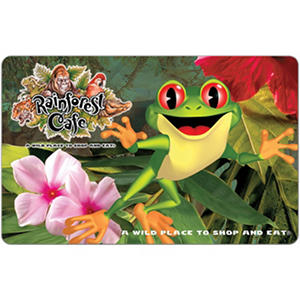 Rainforest Cafe eGift Card - Various Amounts (Email Delivery)