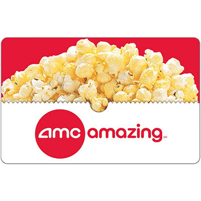 AMC Theatres $25 eGift Card - (Email Delivery)