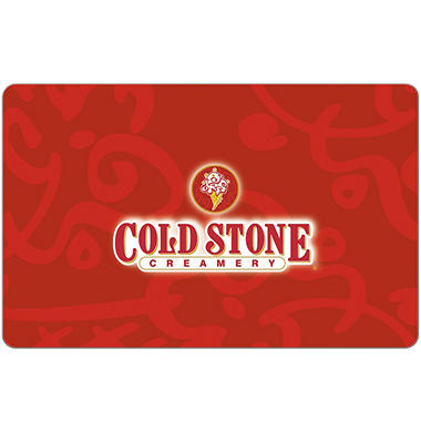 Cold Stone Creamery 15 Egift Card Email Delivery