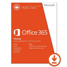 Microsoft Office 365 Home Premium $99.99 eGift Card (Email Delivery)
