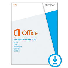 Microsoft Office Home Business 2013 $219.99 eGift Card (Email Delivery)