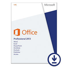 Microsoft Office Professional 2013 $399.99 eGift Card (Email Delivery)
