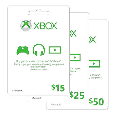 Xbox Live Gift Card - $15