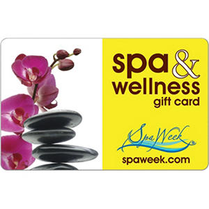 Spa & Wellness eGift Card by Spa Week eGift Card - Various Amounts (Email Delivery)