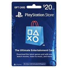 Sony PlayStation Store Gift Card - $20