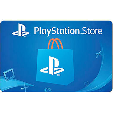 sony playstation store gift card 50 sam 39 s club. Black Bedroom Furniture Sets. Home Design Ideas