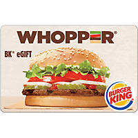 Burger King $20 eGift Card (Email Delivery)