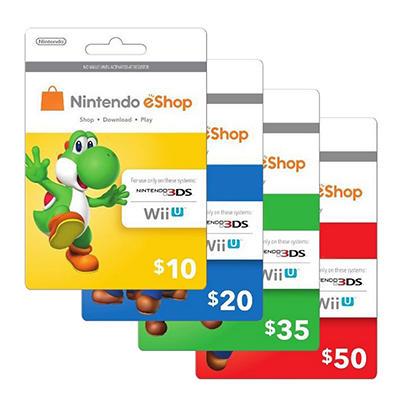 Nintendo Yoshi eShop Gift Card ( $10)