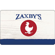 Zaxby's $50 Multi-Pack - 2/$25 Gift Cards for $39.98