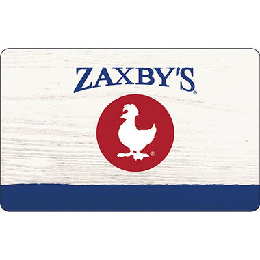 Zaxby's $50 Multi-Pack - 2/$25 Gift Cards