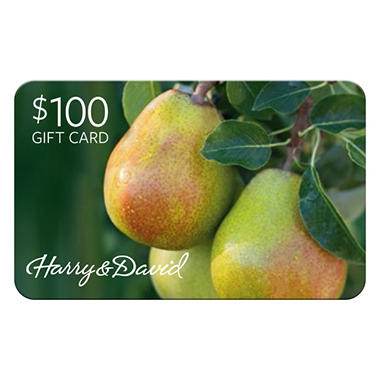Harry& David Gift Card - $100