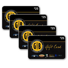 Gordon Biersch Brands $100 Multi-Pack - 4/$25 Gift Cards for $79.98