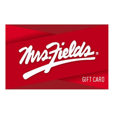 Mrs. Fields $100 Multi-Pack - 2/$50 Gift Cards