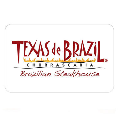 Texas de Brazil Brazilian Steakhouse Gift Card - $100