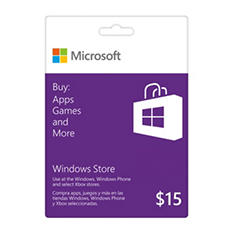 Windows Store Gift Card - $15