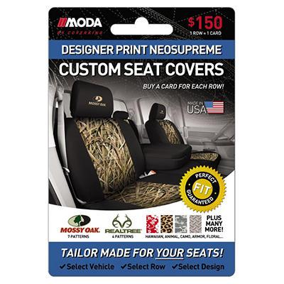 Coverking Designer Print Neosupreme Custom Seat Covers - $150 Gift Card